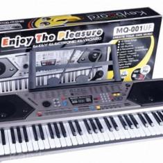 Orga electronica cu 61 de clape, usb mp3, afisaj si radio fm MQ-001UF