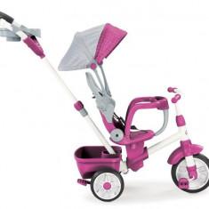 Tricicleta Perfect Fit 4In1 Roz - Tricicleta copii Little Tikes