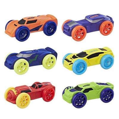 Set Masinute Nerf Nitro Soft Racer 6 Pack foto