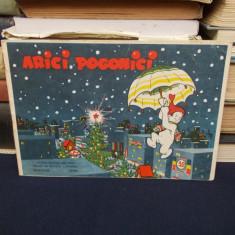 ARICI POGONICI * ALBUM PENTRU CEI MICI - DECEMBRIE / 1958 - Reviste benzi desenate