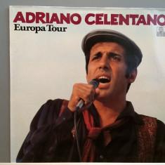 ADRIANO CELENTANO - EUROPA TOUR (1979/ARIOLA REC/RFG) - Vinil/Impecabil (NM) - Muzica Rock