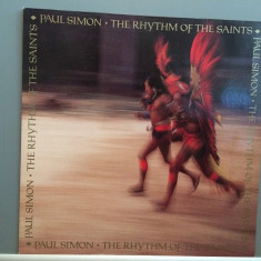 PAUL SIMON - THE RHYTHM OF THE SAINTS (1990 /Warner/Germany) - VINIL/Impecabil - Muzica Rock