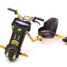 Tricicleta Electrica Freewheel Drift Trike V2 8 Inch Orange