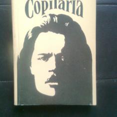Maxim Gorki - Copilaria (Editurile Raduga, Moscova, si Albatros, 1988) - Roman