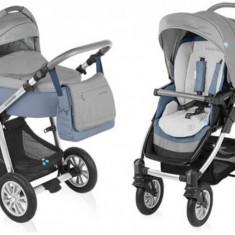 Carucior 2 in 1 Dotty Jeans Baby Design - Carucior copii 2 in 1