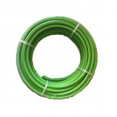 """Furtun EXV-G 1/2""""  PVC triplu stratificat, 1/2"""", cu armătură, culoare verde 25m"""