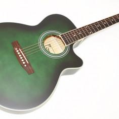 Chitara acustica avansati/incepatori/studenti NOUA VERDE mat