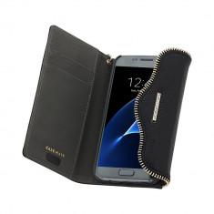 Husa de piele Fashion Case-Mate Rebecca Minkoff pentru Samsung Galaxy S7, Black - Husa Telefon