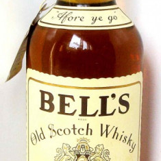 Whisky Bell's Old Scotch Extra Special 1980s Vintage