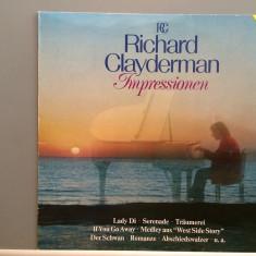 RICHARD CLAYDERMAN - IMPRESSION (1982/DECCA REC/RFG) - Vinil/Impecabil/Analog - Muzica Rock decca classics