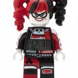 Ceas Lego Mini Fig Clock Lego Batman Movie Harley Quinn - LEGO Minifigurine