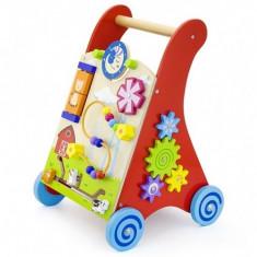 Premergator cu activitati New Classic Toys, 1-3 ani, Multicolor