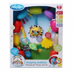 Arcada pentru carucior Bopping Bubbles PlayGro - Jucarie carucior copii