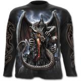 Bluză cu mânecă lungă Dragon Lava (Mărime: L) - Carte in engleza