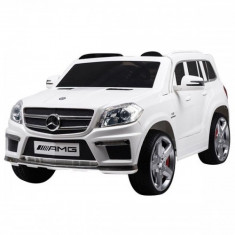 Masinuta electrica SUV Mercedes Benz GL63 AMG White Chipolino - Masinuta electrica copii