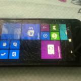 SMARTPHONE NOKIA LUMIA 630 FUNCTIONAL SI DECODAT CU DEFECTE - Telefon mobil Nokia Lumia 630, Negru, Neblocat, Single SIM