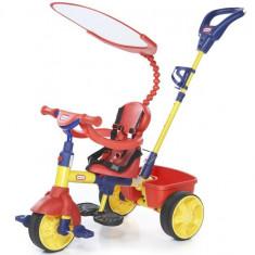 Tricicleta Primara 4In1 - Tricicleta copii Little Tikes