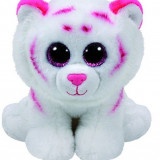 Jucarie De Plus Ty Plush Tabor Pink & White Tiger Classic