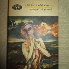 Versuri si proza- I. Heliade Radulescu