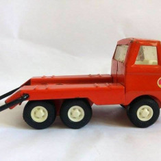 Masinuta camion veche de metal/tabla marca TONKA, 13x6x6cm, veche - Vehicul