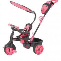 Tricicleta 4In1 Roz Neon - Tricicleta copii Little Tikes