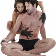 Electrosex Gloves Manusi Stimulare Erotica Electroshock BDSM Bondage Fetish