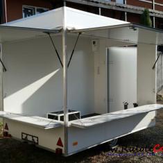Rulota comerciala noua in stoc 3x2x2.30 m - Utilitare auto