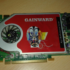 Gainword 7800 gt 256 mb ddr3 256 bits - Placa video PC Gainward, PCI Express, nVidia