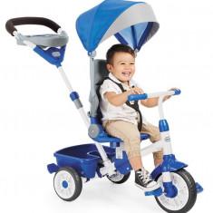 Tricicleta Perfect Fit 4In1 Albastra - Tricicleta copii Little Tikes