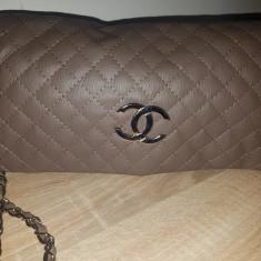 Geanta chanel - Geanta Dama Chanel, Culoare: Crem, Marime: Medie