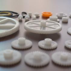 Set 34 de Roţi Dinţate din Plastic