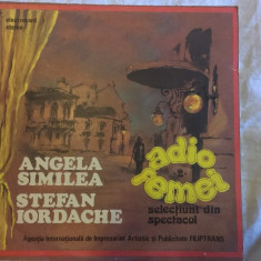Angela Similea – Adio femei vol. II (Vinyl/LP) - Muzica Pop electrecord, VINIL