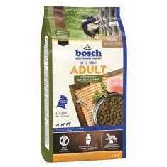 Bosch ADULT Poultry and Millet 1kg - Hrana caine
