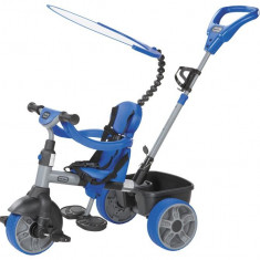 Tricicleta 4In1 Albastra - Tricicleta copii Little Tikes