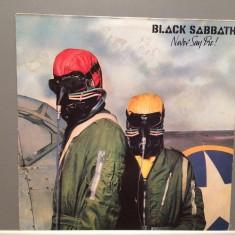 BLACK SABBATH - NEVER SAY DIE (1978/VERTIGO/RFG) - Vinil/Vinyl/Impecabil (NM) - Muzica Rock universal records