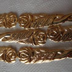 TACAMURI / LINGURITE PLACATE CU AUR - Argint