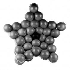 Suport forma stea pentru baloane, 37 bucati, ABS - Decoratiuni petreceri copii