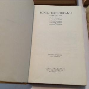 OPERE ALESE - Ionel Teodoreanu 4  volume) - LA MEDELENI,R2