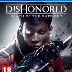 Joc consola Bethesda DISHONORED DEATH OF THE OUTSIDER pentru PS4
