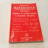 MATEMATICA Elemente de algebra liniara si geometrie analitica - Mircea Ganga,R2, Clasa 11, Alta editura