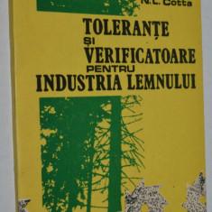 Tolerante si verificatoare pentru industria lemnului