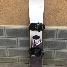 Placa snowboard Crazy Creek maxium 163cm cu legaturi Atomic - Placi snowboard