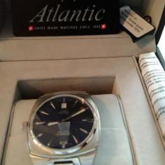 Ceas barbatesc Atlantic 84365.41.21 Quartz Mariner Square, nou, Lux - sport, Inox, Ziua si data