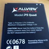 Acumulator Allview P5 Quad original nou, Li-ion