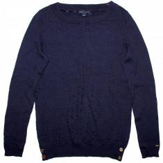 Bluza TOMMY HILFIGER - Bluze Dama, Femei - 100% AUTENTIC - Pulover dama Tommy Hilfiger, Marime: S, Culoare: Bleumarin, Cardigan, Bumbac