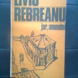 Liviu Rebreanu - Jar. Amindoi (Editura Eminescu, 1985) - Roman