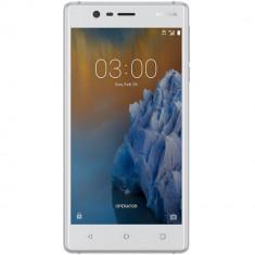 Smartphone Nokia 3 16GB Dual Sim 4G Silver - Telefon Nokia