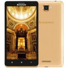 Telefon Dualsim Lenovo S856 - Telefon mobil Lenovo, Auriu, 8GB, Neblocat, Dual core, 1 GB