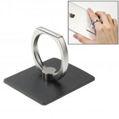 Inel suport telefon Finger Grip Ring (negru)