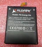 Acumulator Allview P6 Energy Lite  original nou, Alt model telefon Allview, Li-ion